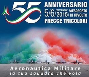 55 anniversario frecce tricolori