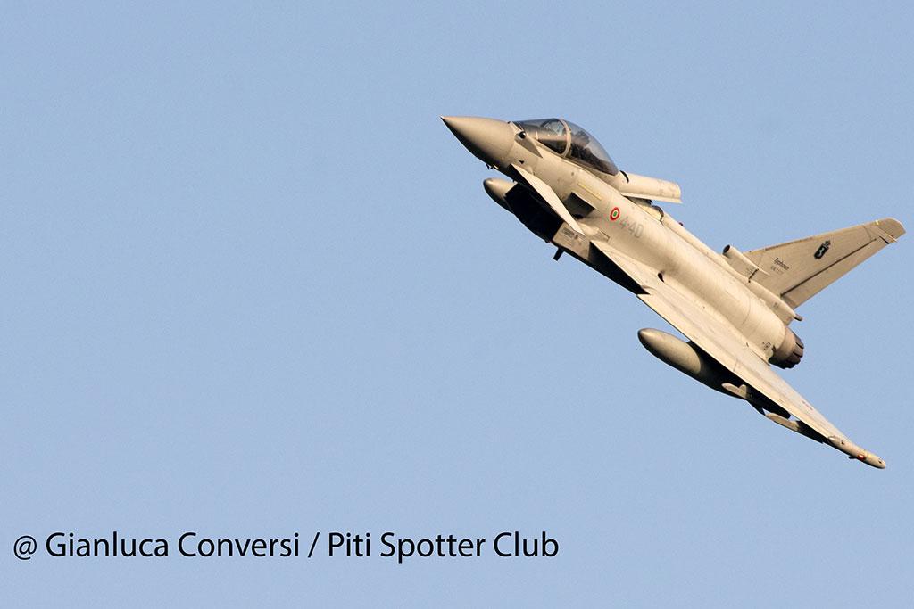 F-2000 Typhoon Aeronautica Militare base aerea di Cameri