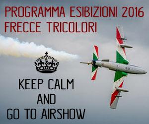 programma esibizioni 2016 frecce tricolori