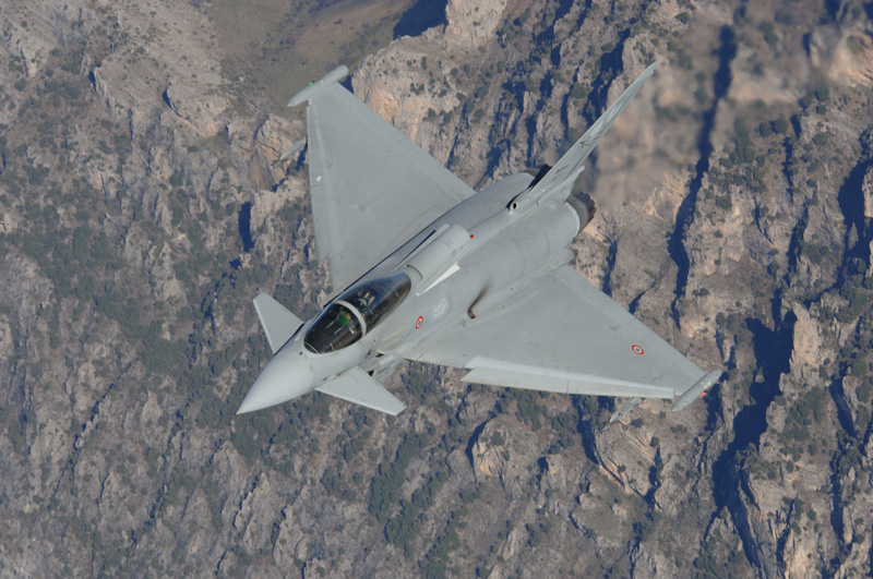 Eurofighter Typhoon italiani nel Baltico NATO Baltic Air Policing