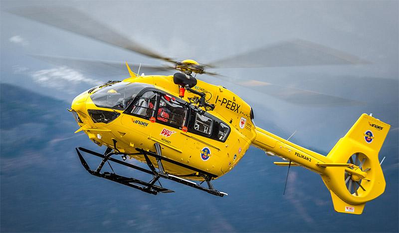 elisoccoro in alto adige airbus helicopter H-145