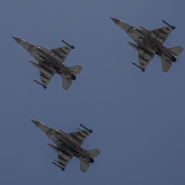 israel air force flypast 67° anniversario indipendenza