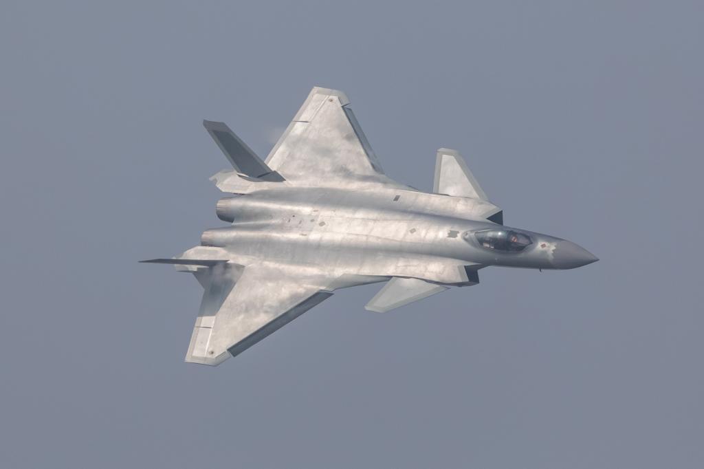 Chengdu J-20 stealth fighter